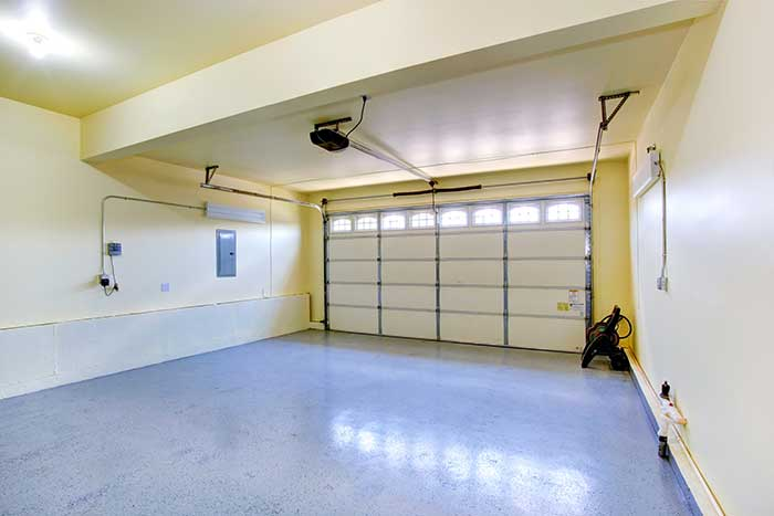 Two-car-garage-interior-repaired-by-professionals